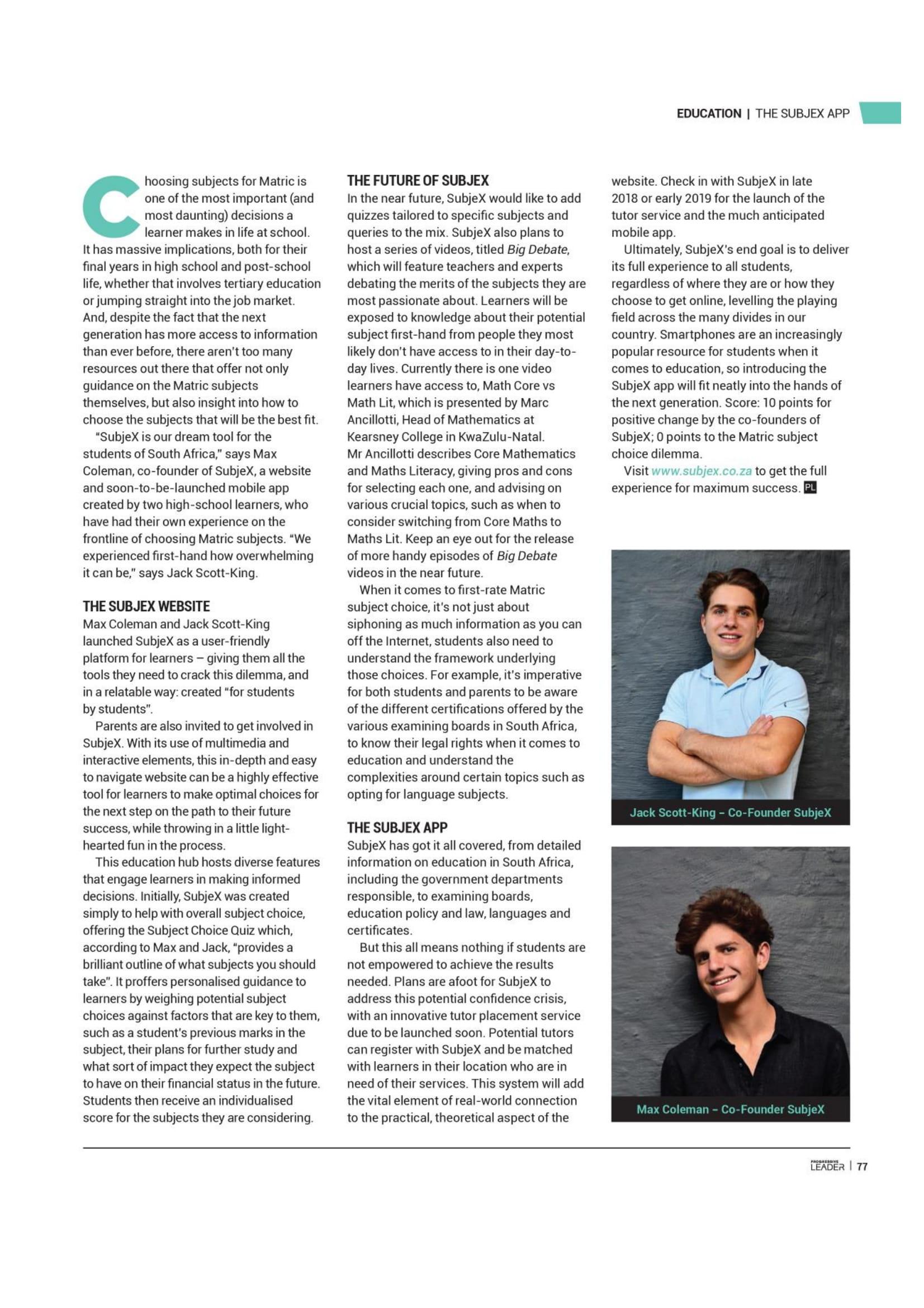 Progressive Article page 2